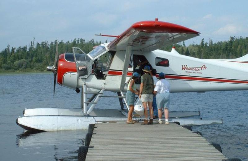 Aircraft at Evergreen Lodge