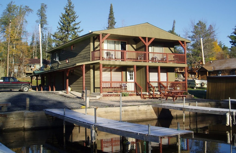 Exterior view of Norway Lodge.
