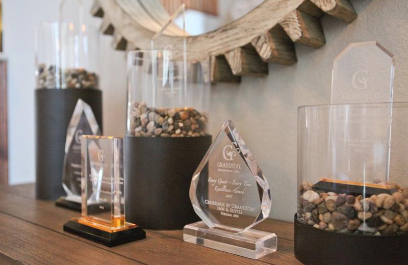 Awards at GrandStay Perham.