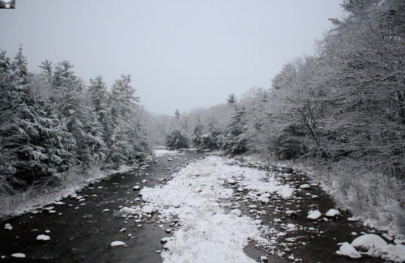 River at North Conway Lodging.
