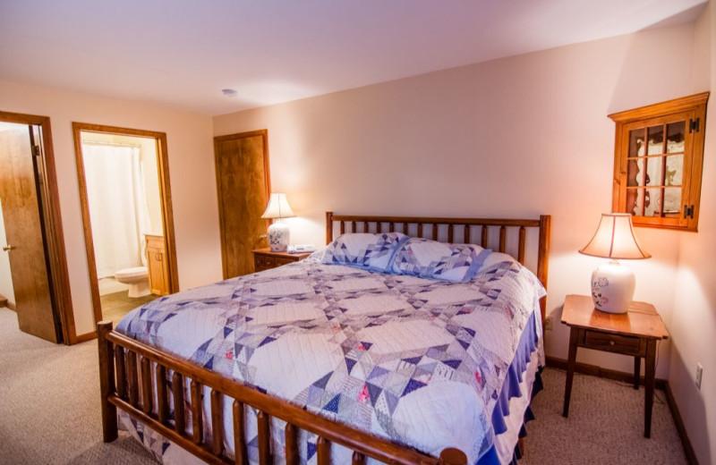 Rental bedroom at The Killington Group.