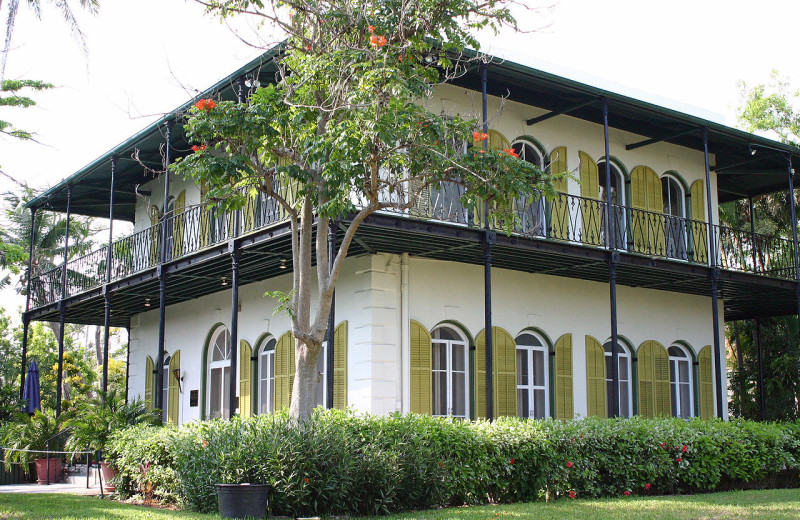Earnest Hemingway House near Tranquility Bay Beach House Resort.