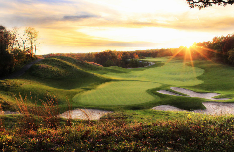 Featuring massive elevation changes, the Player Course is one of the most unique layouts in the Midwest
