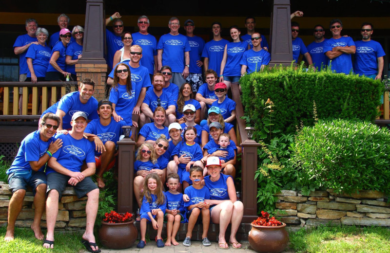 Reunions at Trout House Village Resort.