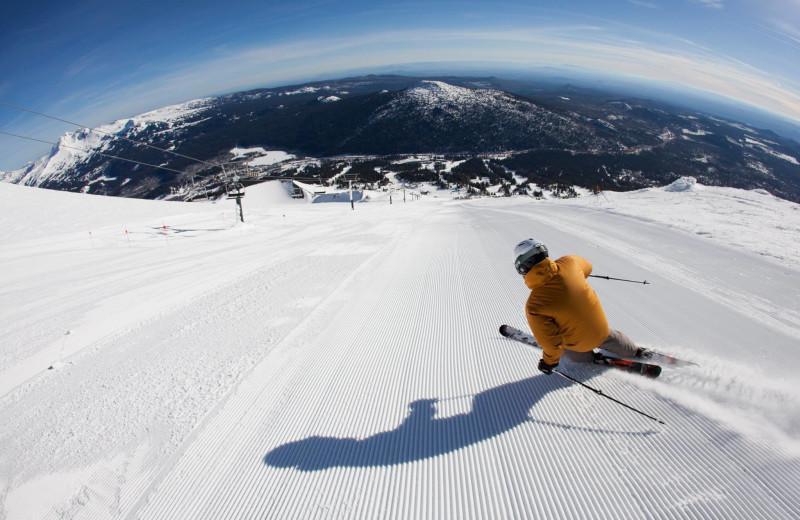 Skiing at Sunriver Resort