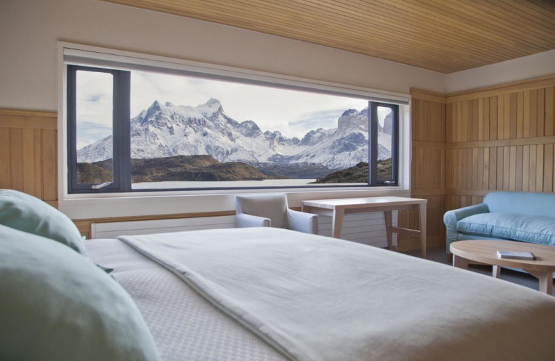 Guest room at Hotel Explora.