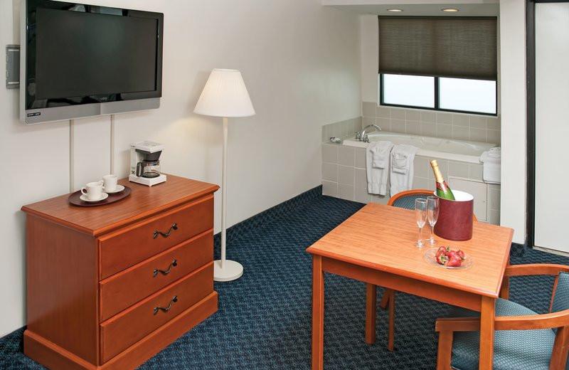 Jacuzzi room at Best Western PLUS Oceanfront Virginia Beach.