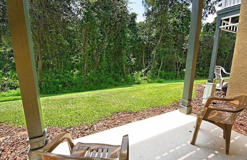 Vacation rental porch at Vista Cay Inn.