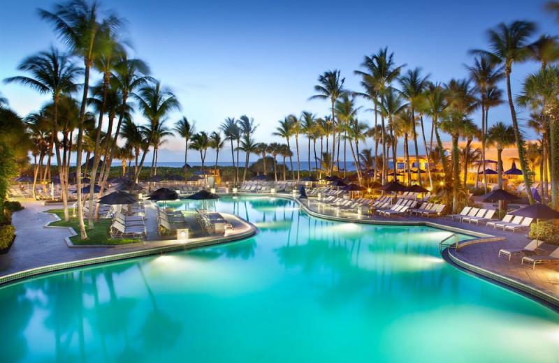 Outdoor pool at Harbor Beach Marriott Resort & Spa.
