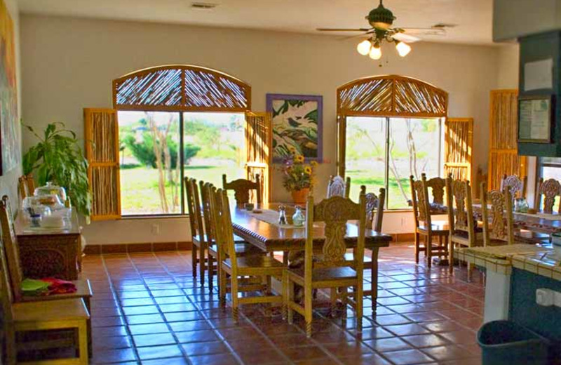 Dining Area at Casa de San Pedro