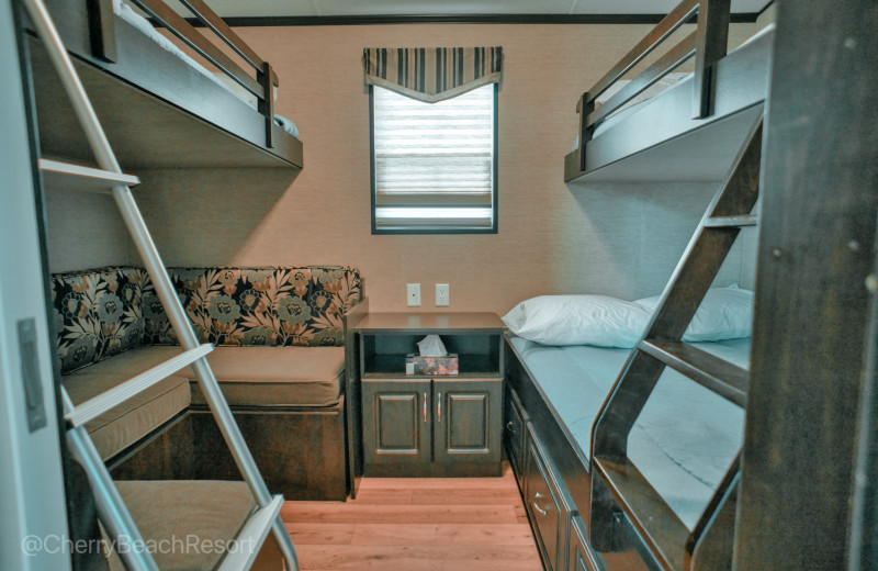 Example accommodations, this is not the exact unit you will be staying in