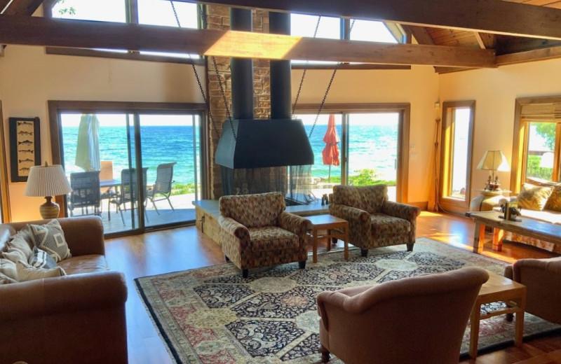 Rental interior at  J R Vacation Rentals.