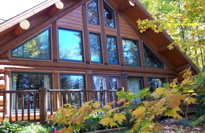 Vacation rental exterior at Whitetail Lodging.