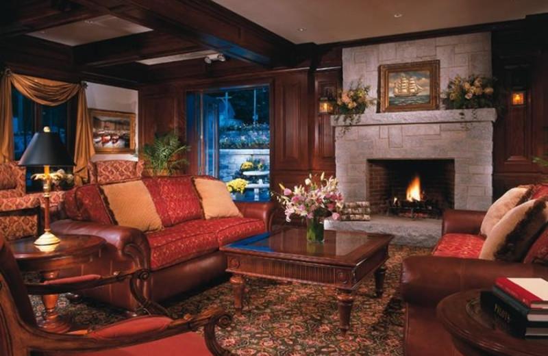 Living Room at Harborside Hotel