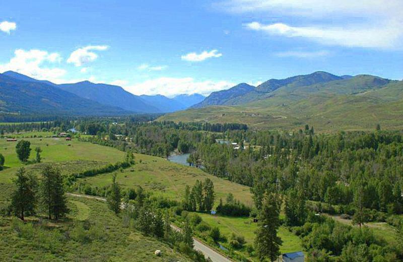 Scenic view of Sun Mountain Lodge.