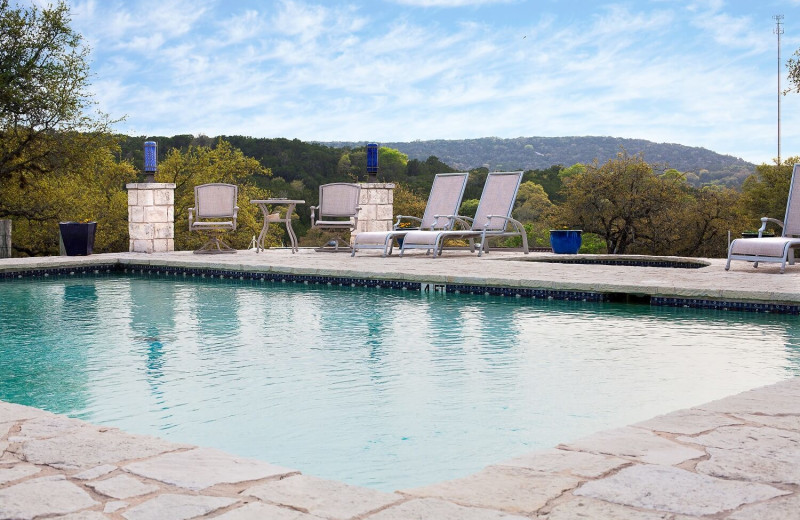 Outdoor pool at Blair House Inn.
