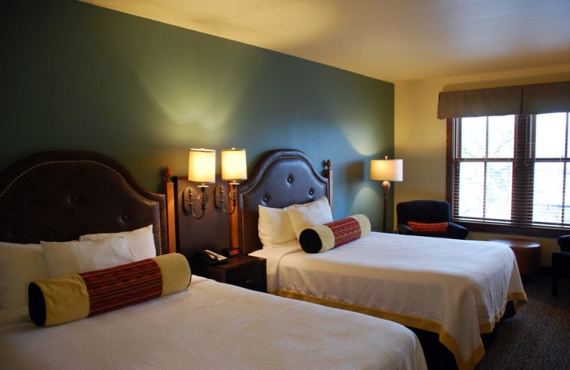 Guest room at Rough Riders Hotel.
