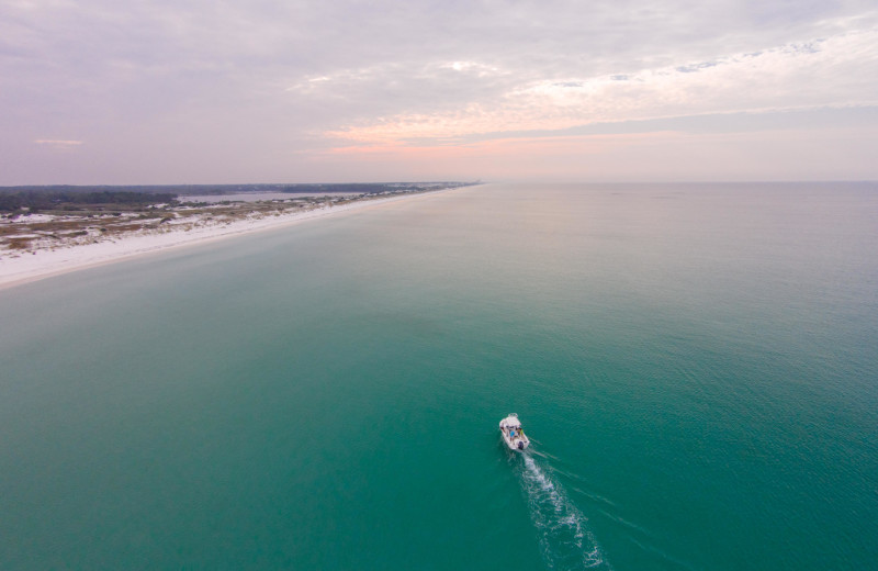 Try your luck fishing in the Gulf of Mexico or just cruise the open water and soak up the sun during your stay in a condo or beach home by Southern Vacation Rentals.