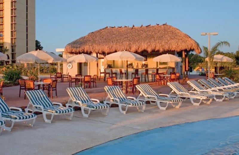Pool bar at La Torretta Lake Resort.