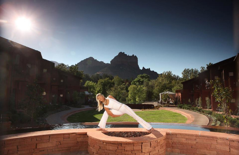 Yoga Classes at Amara Resort