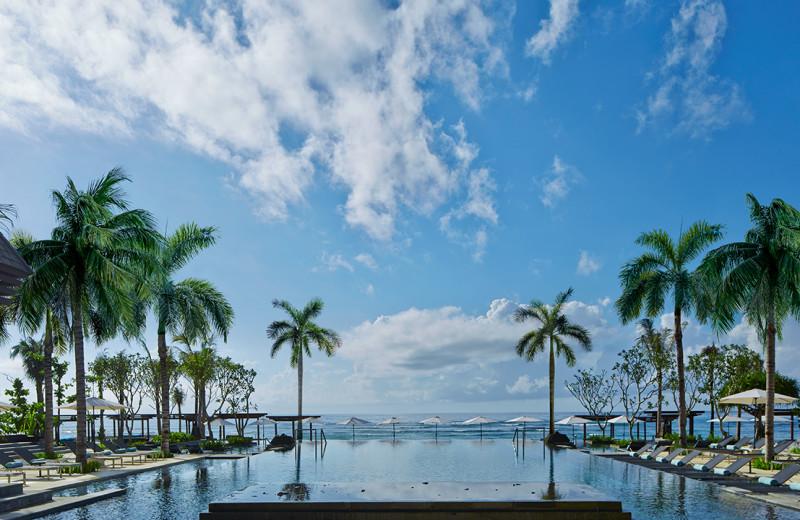 Outdoor pool at The Ritz-Carlton, Bali.