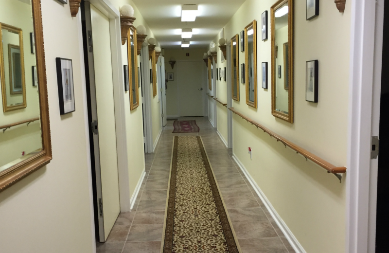 Hallway at The Alcove at Luray.