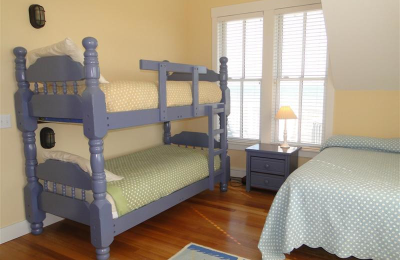 Bunk beds at Bald Head Island Limited.