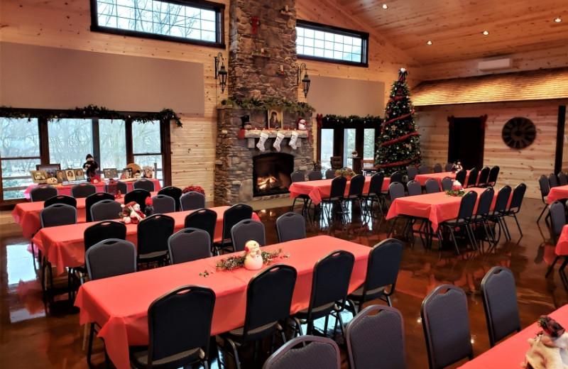 Rustic Hearth Event Center at Cedar Valley Resort.