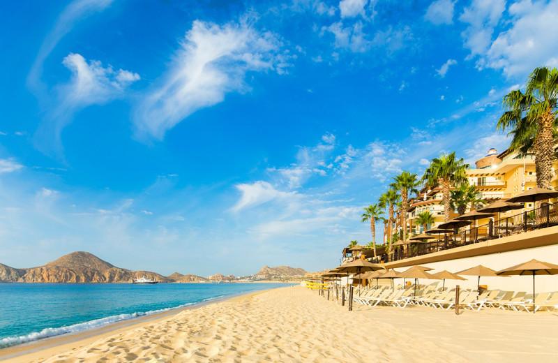 Beach at Villa La Estancia at Cabo La Estancia.