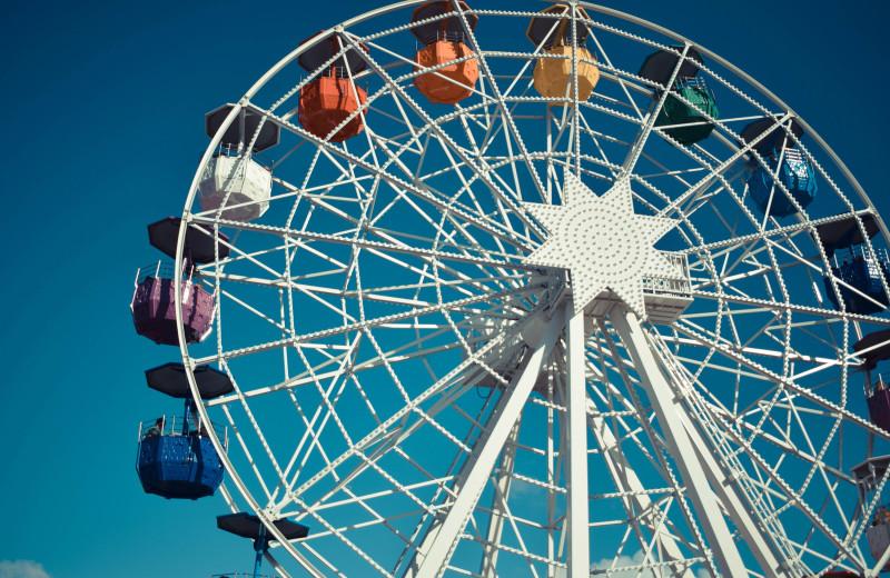 Amusement park at Aqua Breeze Inn.
