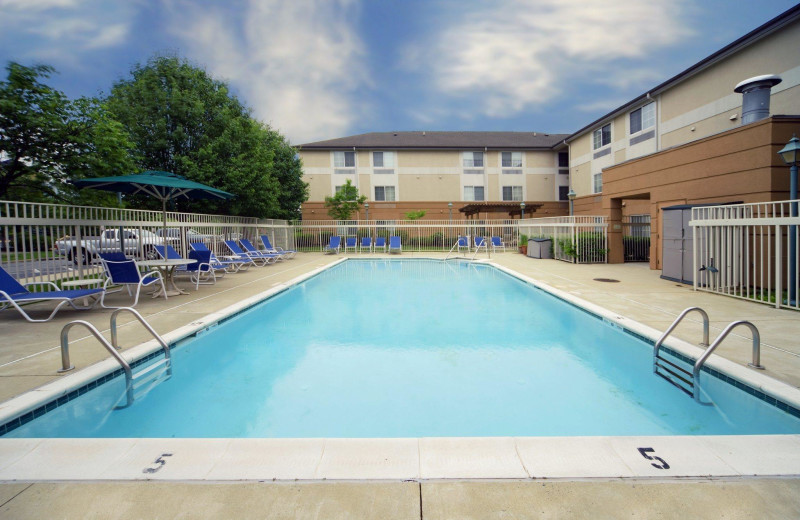 Outdoor pool at Extended Stay Deluxe Phoenix - Scottsdale.