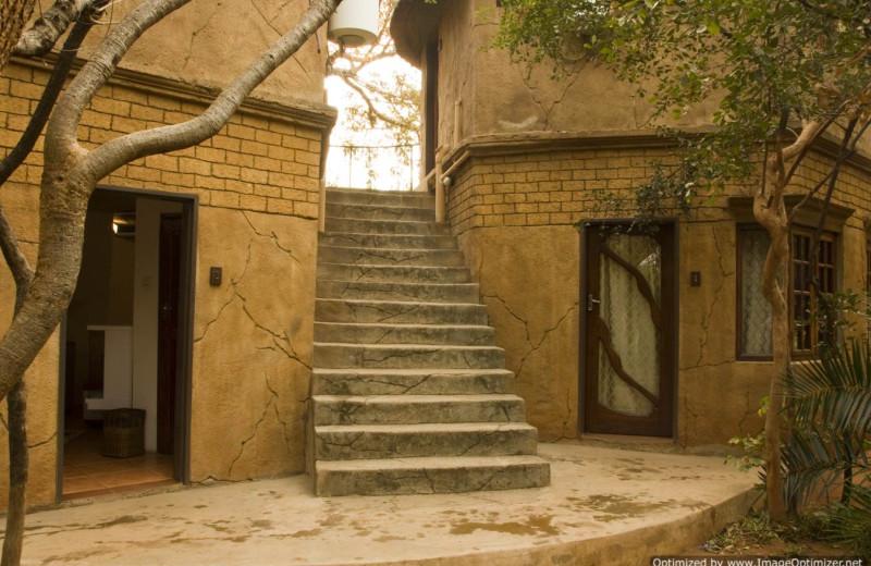 Exterior view of Kaazmein Lodge & Resort.