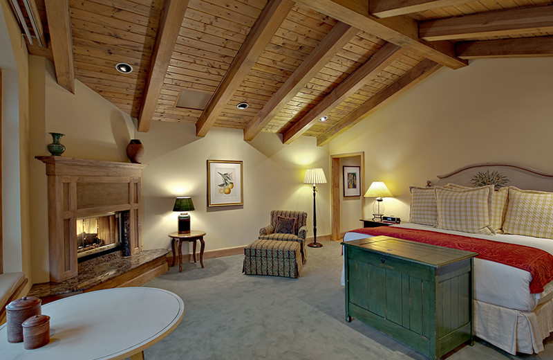 Guest room at The Lodge At Vail.