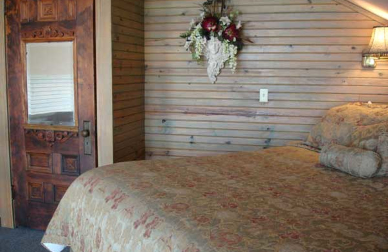 Guest room at Bonnybrooke Farm atop Misty Mountain.