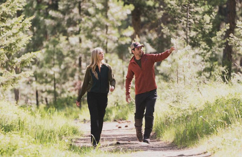 Hiking at The Green O.