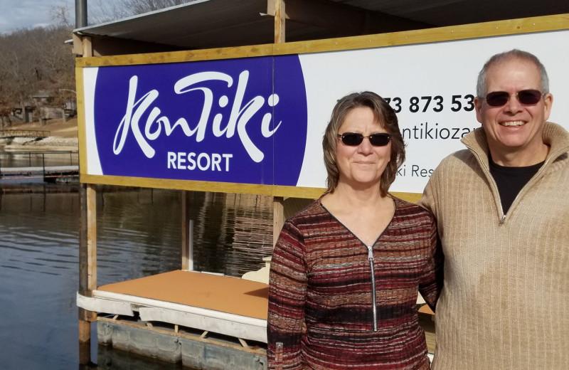 Couple at Kon Tiki Resort.
