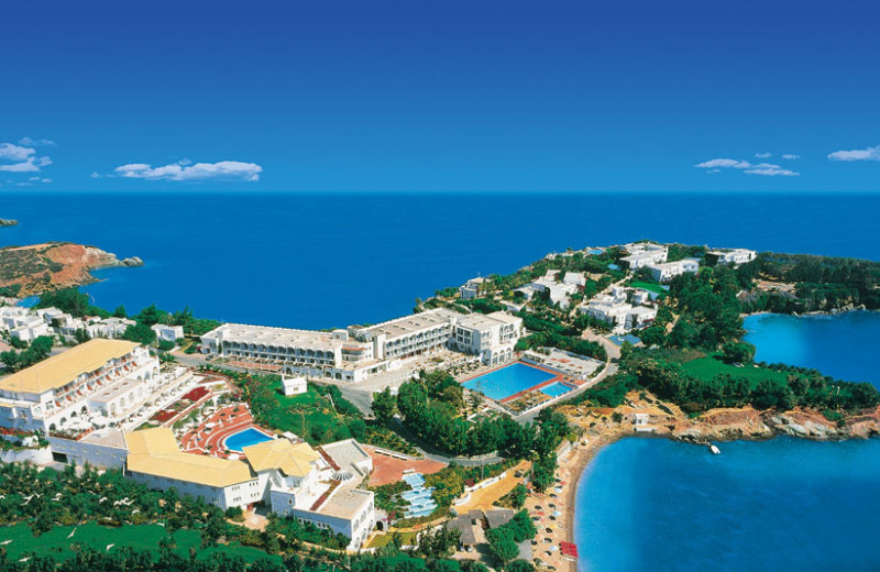 Exterior view of Sofitel Capsis Palace & Capsis Beach Hotel.