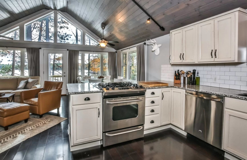 Rental interior at Hiller Vacation Homes.