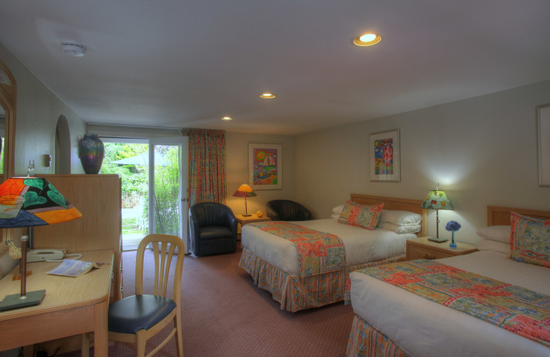 Guest room at Pleasant Bay Village.