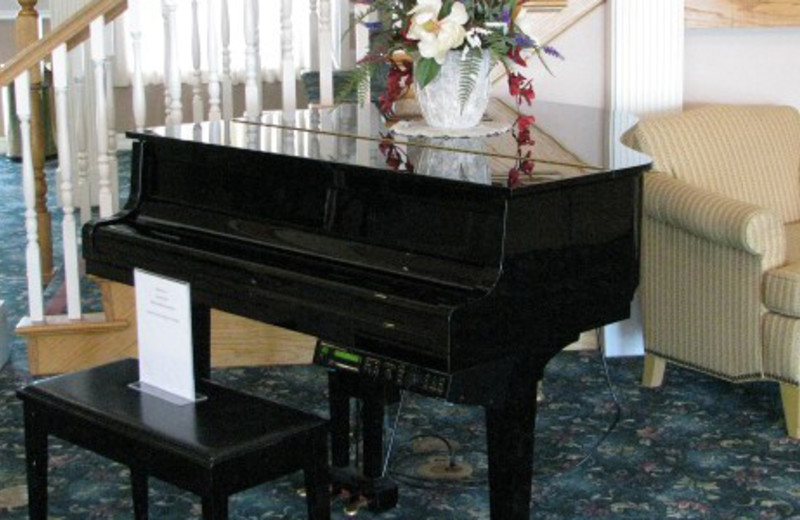 Lobby Piano at Branson Towers Hotel