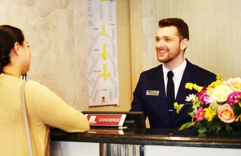 Front Desk Staff is Always Here to Greet You With a Smile
