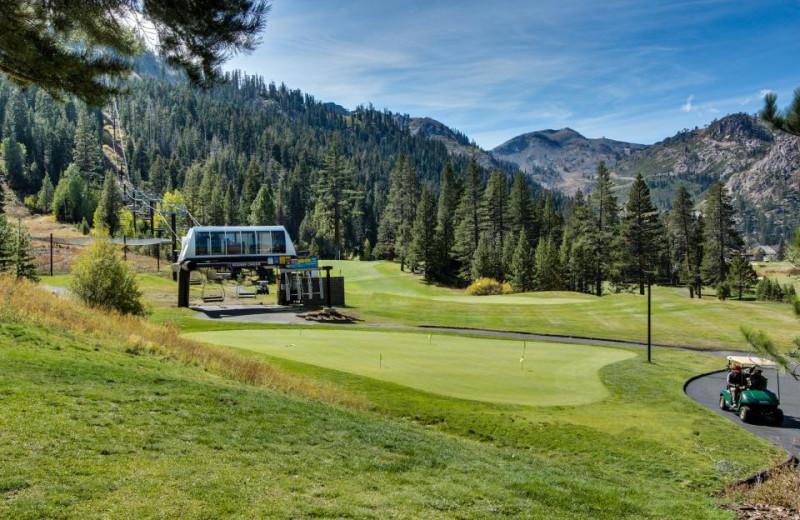 Golf course at Vacasa Rentals Lake Tahoe.