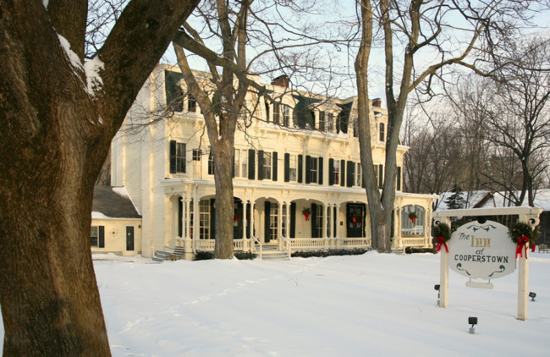Winter at Inn at Cooperstown.