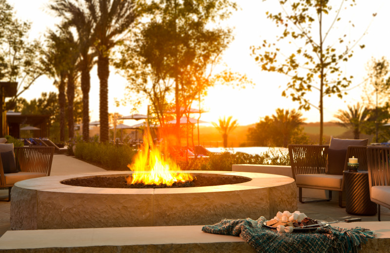 Bonfire at La Cantera Resort & Spa.