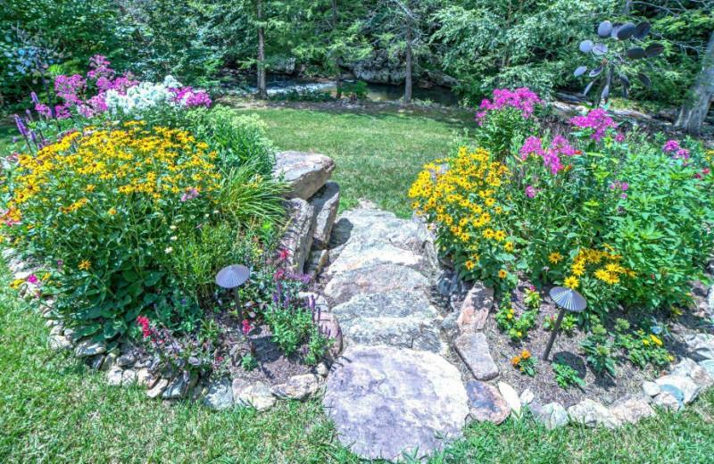 Garden at The Lodge at River Run.