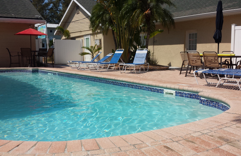 Outdoor pool at Anna Maria Island Inn.