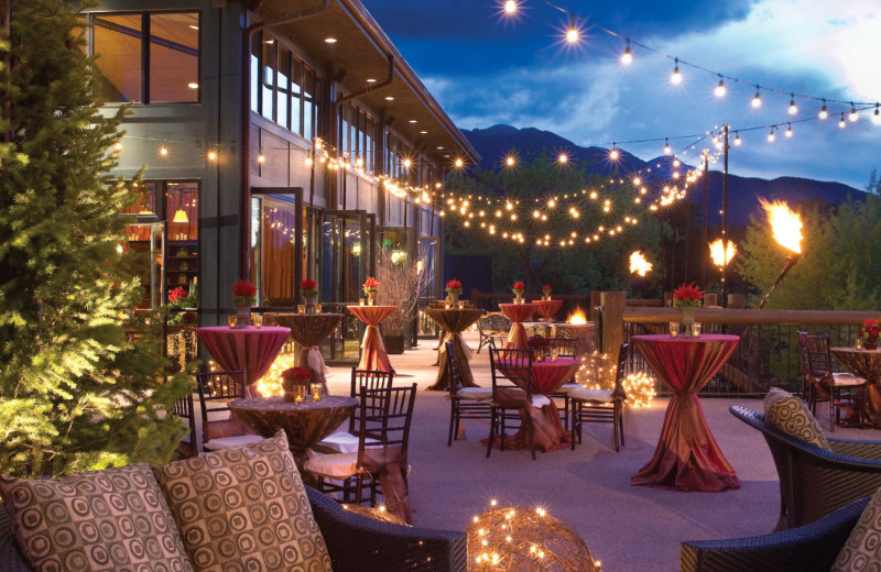 Patio at The Broadmoor.