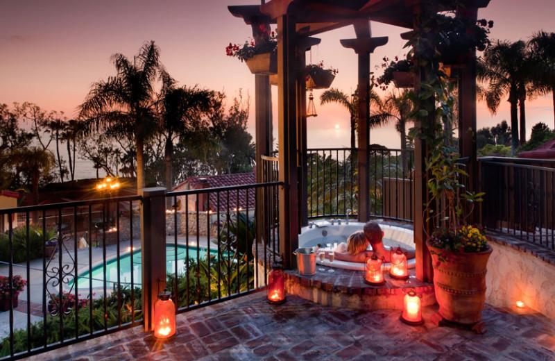 Outdoor pool at Casa Laguna Inn.