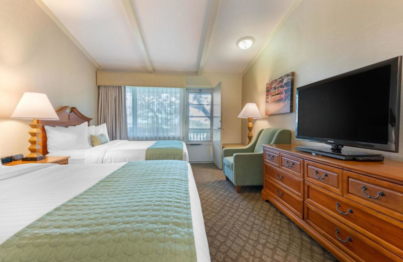 Guest room at Gran-View On The River.