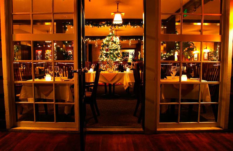 Holiday dinner at Marys Lake Vacation Condos.